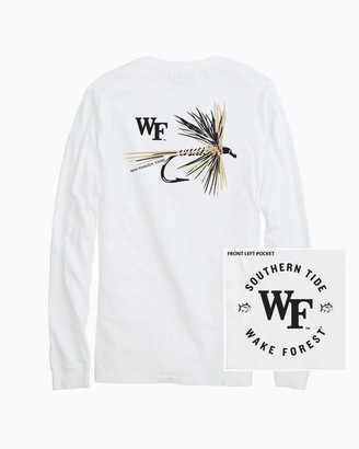 Southern Tide Wake Forest Fly Long Sleeve T-Shirt