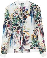 Jette Joop Plus Size Tropical print blouson jacket