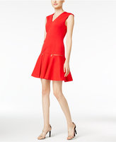 MICHAEL Michael Kors Zip-Pocket Fit & Flare Dress