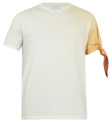 J.w.anderson Knotted-sleeve Cotton-jersey T-shirt
