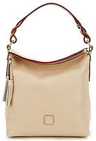 Dooney & Bourke Florentine Collection Small Sloan Tasseled Hobo Bag