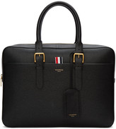 Thom Browne Black Business Briefcase