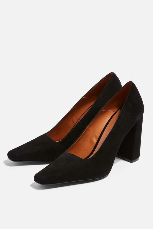 Topshop GEENA Block Court Shoes