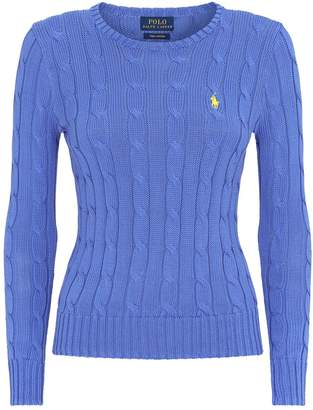 Ralph Lauren Julianna Cable-Knit Sweater