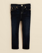 7 For All Mankind Girls' The Skinny Dark Jeans - Sizes 2-6X
