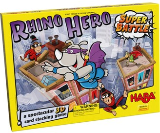 Haba Rhino Hero Super Battle Stacking Card Game