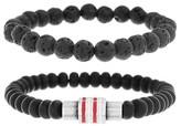 Ben Sherman Men's Rondelle Bead Bracelet