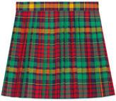 Gucci Children's madras skirt