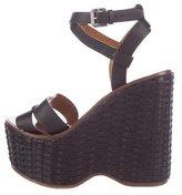 Ralph Lauren Platform Wedge Sandals