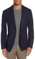 Men's Big & Tall Flynt New Fit Wool Blend Knit Sport Coat