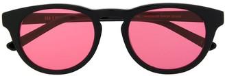 Han Kjobenhavn Round-Frame Tinted Sunglasses
