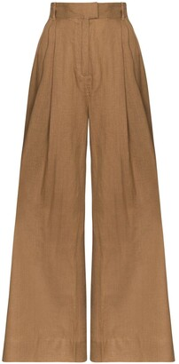 Three Graces High-Waisted Trousers
