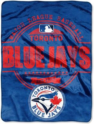 "Northwest Company The Toronto Blue Jays 46"" x 60"" Structure Micro Raschel Plush Blanket"