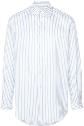 Gucci Button-Down Striped Shirt