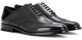 Saint Laurent Leather Oxford Shoes