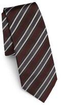 Dolce & Gabbana Tonal-Striped Silk Tie