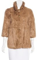 A.P.C. Rabbit Fur Jacket