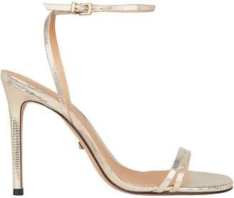 Schutz Altina Snakeskin Sandals