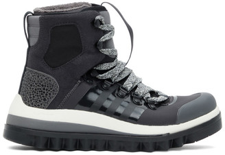 adidas by Stella McCartney Black Eulampis Ankle Boots