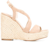 Paloma Barceló Fedry sandals - women - Leather/Suede/Straw - 35