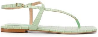 Carvela crocodile effect sandals
