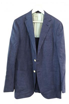 Loro Piana Blue Linen Jackets