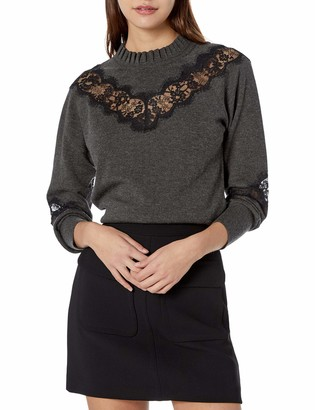 Bailey 44 Women's Lace Inset Flora Sweater