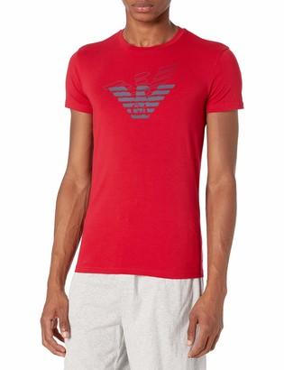 Emporio Armani Men's Double Eagle Crew Neck T-Shirt