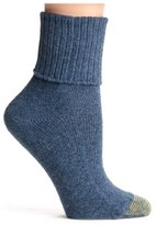 Gold Toe Women's Bermuda Turn Cuff Sock, size 9-11
