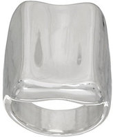 Simon Sebbag Designed by Sterling Silver Concave Ring
