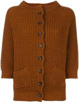 Stefano Mortari cable knit cardigan