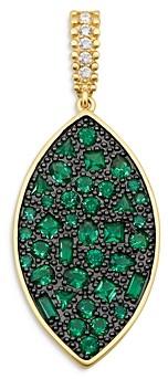 Freida Rothman Midnight Marquise Pendant Necklace, 27
