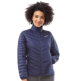 Berghaus Womens Terhra Reflect Down Jacket Dark Blue