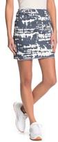 Love, Fire Tie Dye Mini Skirt
