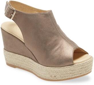 Cordani Elvine Peep Toe Platform Sandal