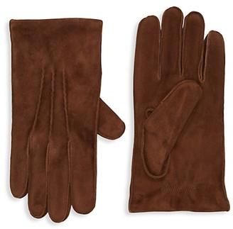 Portolano Textured Suede Gloves