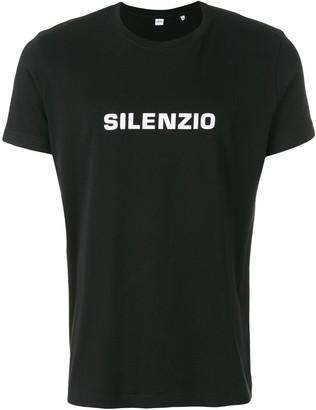 Aspesi slogan print T-shirt