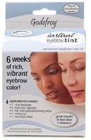 Godefroy Instant Eyebrow Tint Permanent Eyebrow Color Kit, Natural Black (Pack of 1) by Godefroy