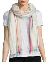 Tilo Infinite-Print Cotton Scarf