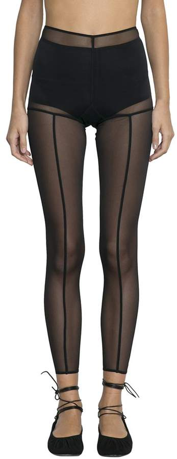 Ann Demeulemeester Stitchings Leggings