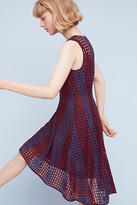 Eva Franco Plum Mesh Dress