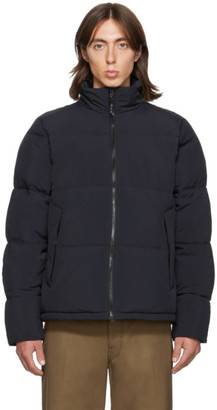 The Very Warm SSENSE Exclusive Black Quilted Puffer Jacket