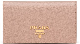 Prada small Saffiano calf leather wallet