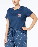 Jenni by Jennifer Moore Plus Size Patches Pajama T-Shirt, Created for Macy's