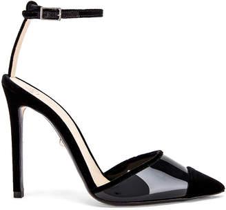 ALEVÌ Milano Bianca Heel in Mass Black | FWRD