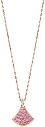 Bvlgari Rose Gold and Pink Sapphire Divas' Dream Necklace