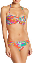 Trina Turk Sea Garden Shirred Bikini Bottom