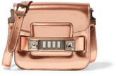 Proenza Schouler PS11 Tiny metallic leather shoulder bag