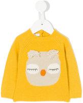 Il Gufo intarsia-knit sweater