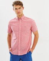 Tommy Hilfiger Cotton Linen Short Sleeve NF2 Shirt